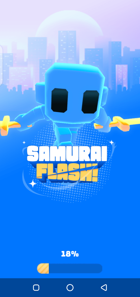 Screenshot of Samurai Flash Apk