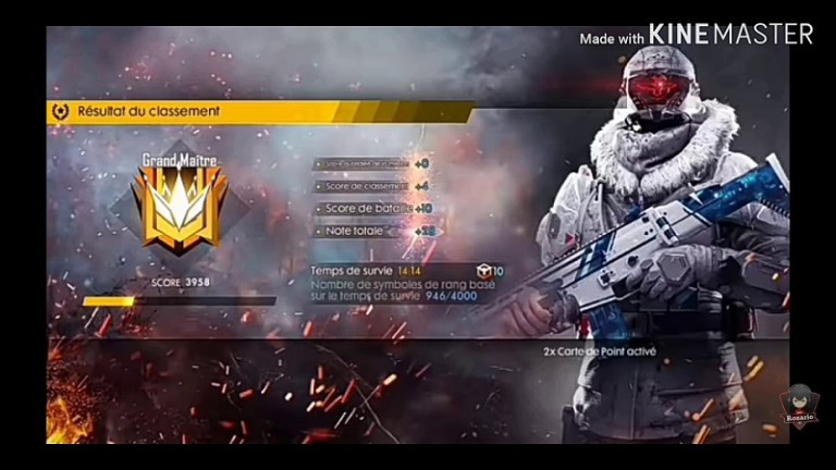 Screenshot of Kinemaster Free Fire