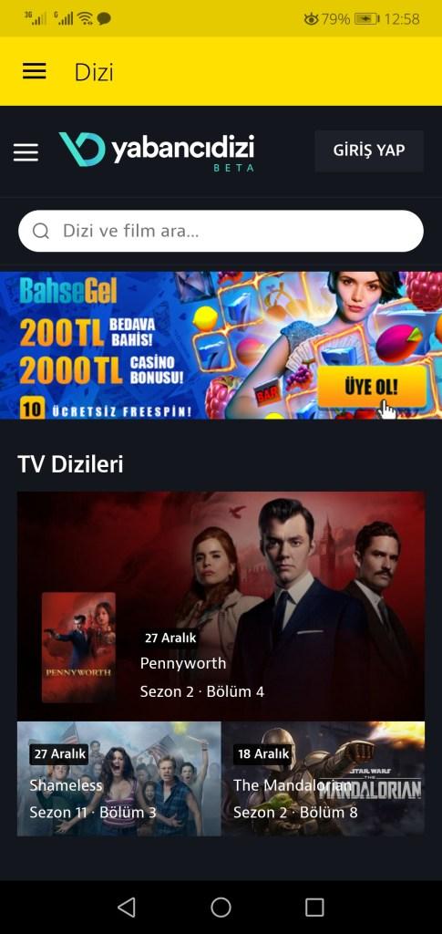 Screenshot of EXXEN TV App Apk