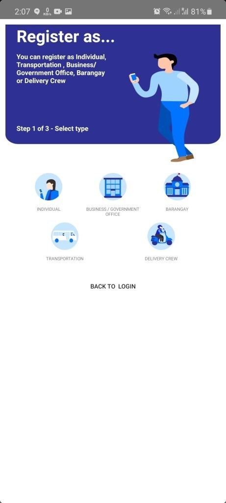 Screenshot of Traze App Apk