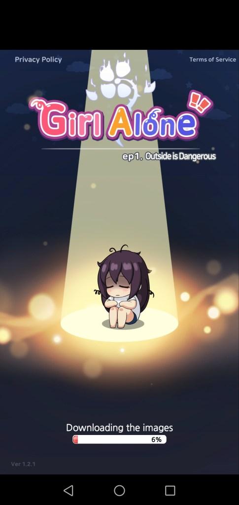 Screenshot of Girl Alone Mod Game