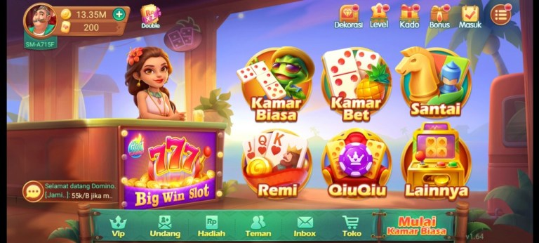 Screenshot of Domino RP App