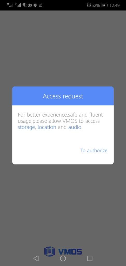 Screenshot of VMOS Pro Mod App