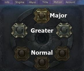 Stigma Aion Gladiator