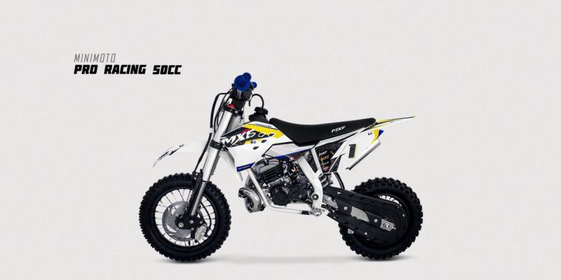 50cc - PRO RACING - Amarela
