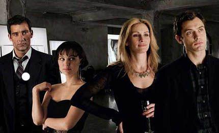 Julia Roberts, Jude Law, Natalie Portman y Clive Owen