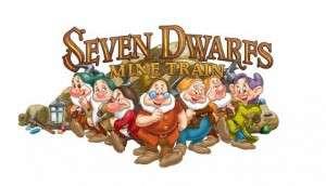 Seven Dwarfs Mine Coaster Logo- Orlando Fun and Food