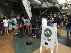 Fastpass+ Kiosk near Stitch's Great Escape