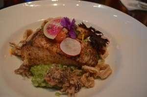 Mahi Dish at Tchoup Chop