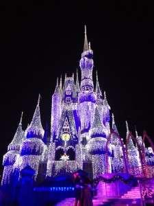 Cinderella Castle Dream Lights - Orlando Fun and Food