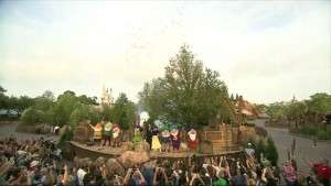 Fireworks explode as the ride is officially dedicated as the final phase of New Fantasyland is complete - Orlando Fun and Food