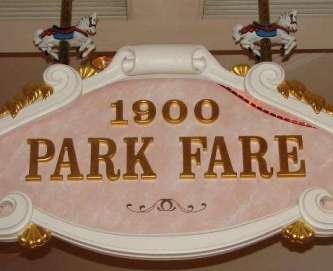 Sign at 1900 Park Fare