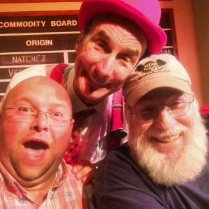 Not every day that you get to take a selfie with YeeHaw Bob, Ron Schneider (The original Dreamfinder himself) and myself! Love  for sure!