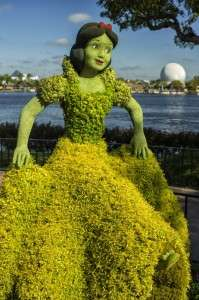 We love the topiaries at the Flower and Garden Festival at EPCOT!