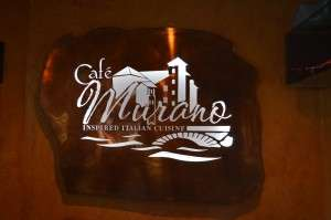 Cafe Murano Sign