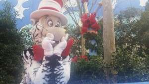 The Cat in the Hat posing for me!