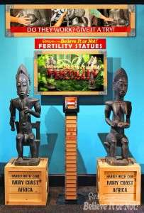 Fertility Statues at Ripley's Believe It Or Not!