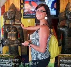 Fertility Statues at Ripley's Believe It Or Not!