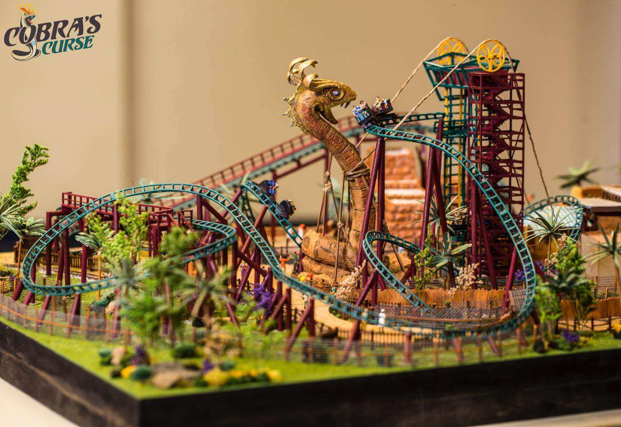 Details on Cobra\'s Curse Released at IAAPA! | OFF On The Go