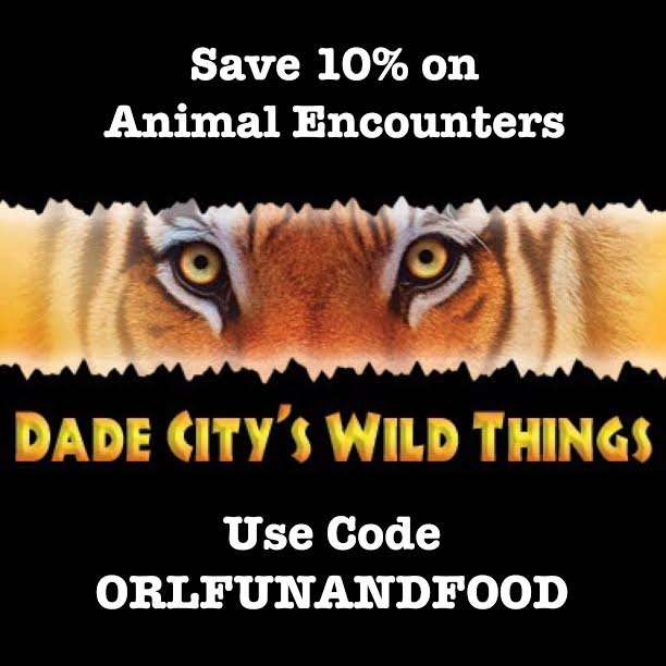 Dade City Wild Things Promo Code