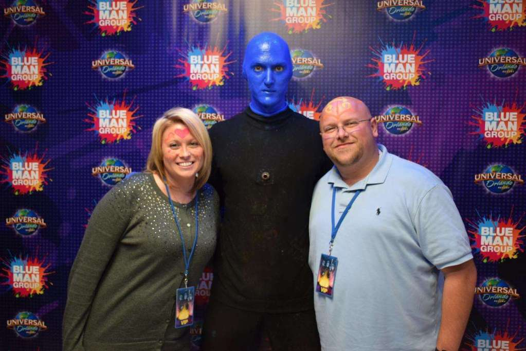 Blue Man Group VIP Experience