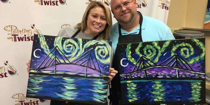 Painting With A Twist in Sarasota Brings Out Artists In All Of Us!