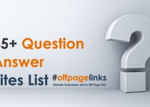Question Answer Sites List