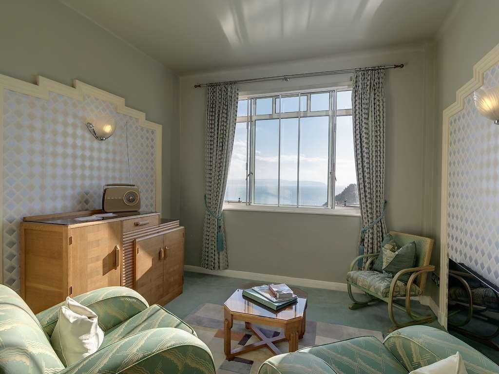Burgh Island Hotel room and bedroom information gallery