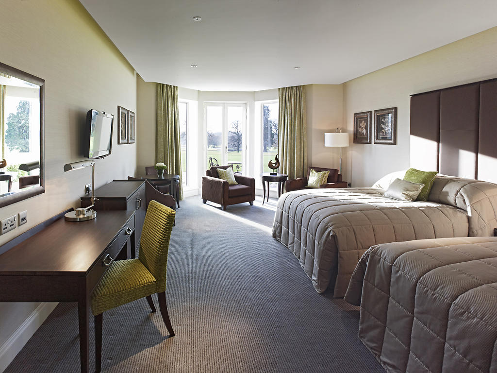 Rockliffe Hall Hotel room and bedroom information gallery