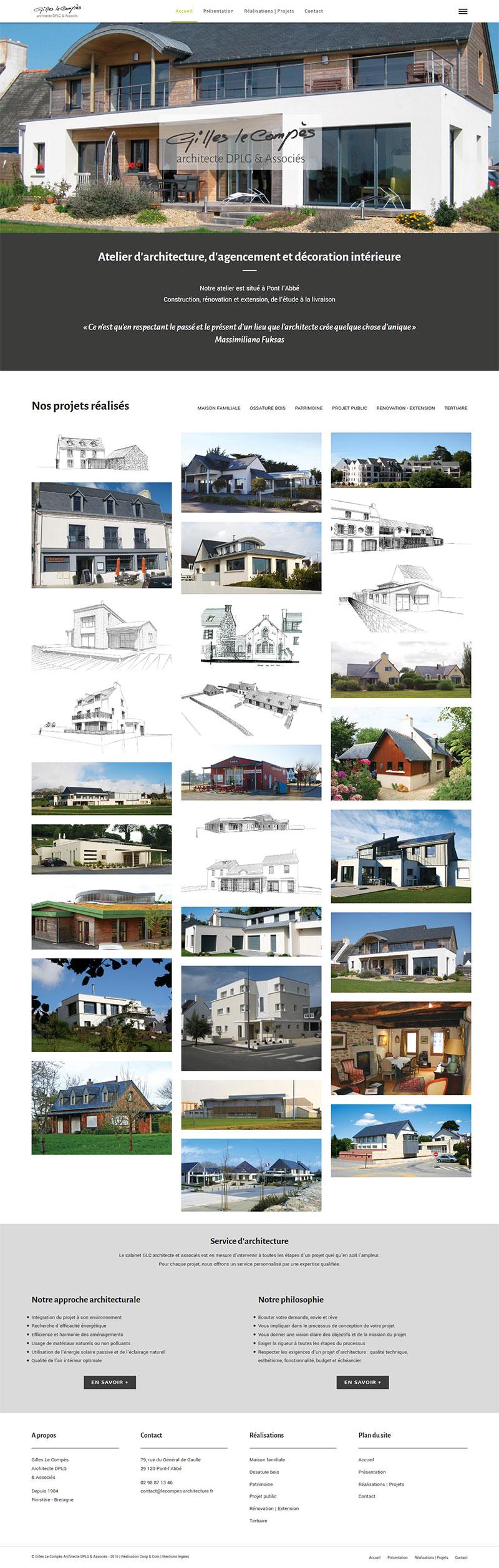 Le Compès Architecture - Accueil
