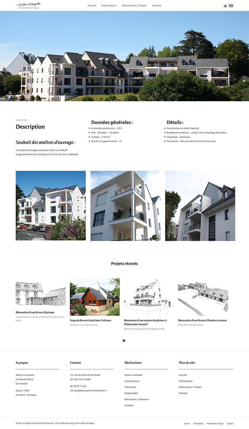 Le Compès Architecture - Réalisation
