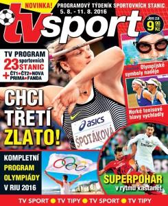 Předolympijská nálada týdeníku TV sport