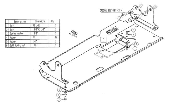 ASFIR UFS Land Rover TDI +TD5+TD4, Vorderachse > LAND