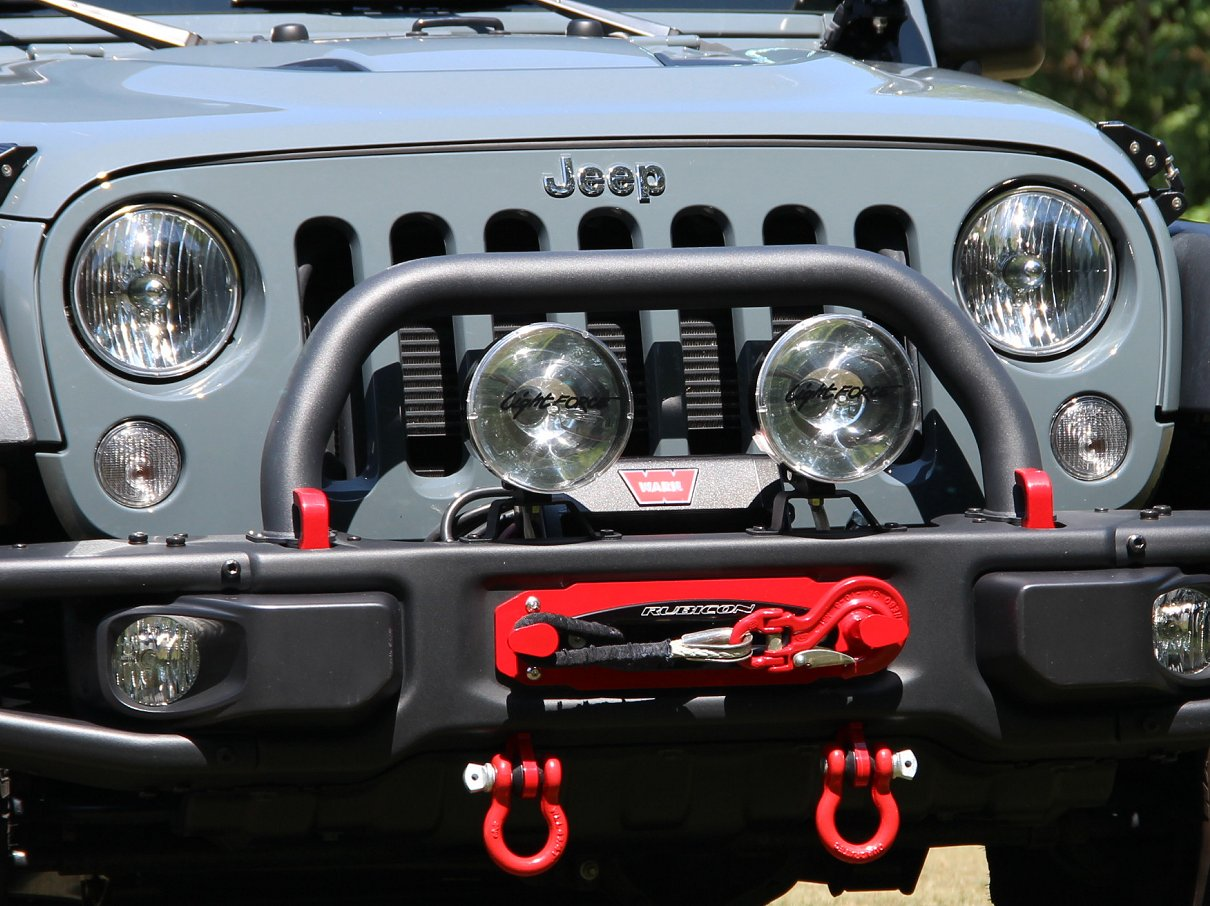 hight resolution of installed winch