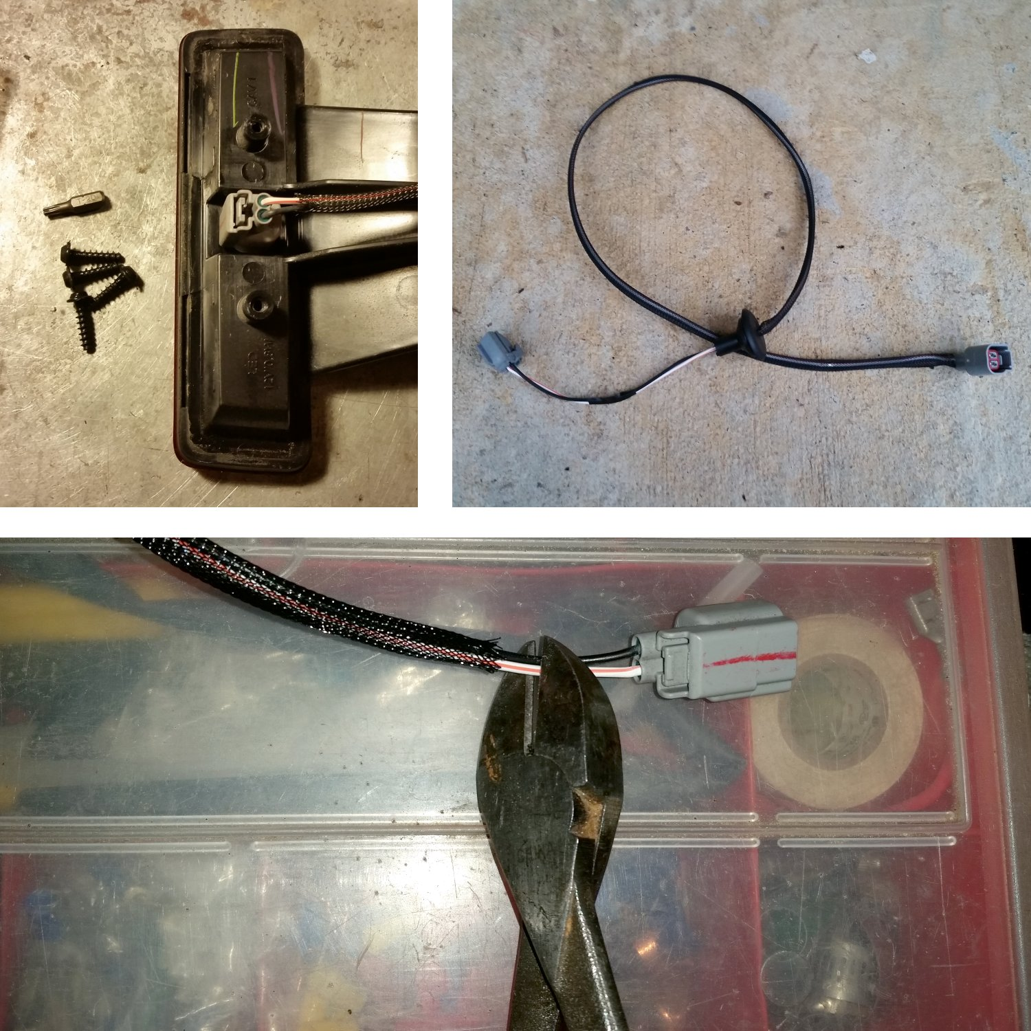 hight resolution of remove brake light wire