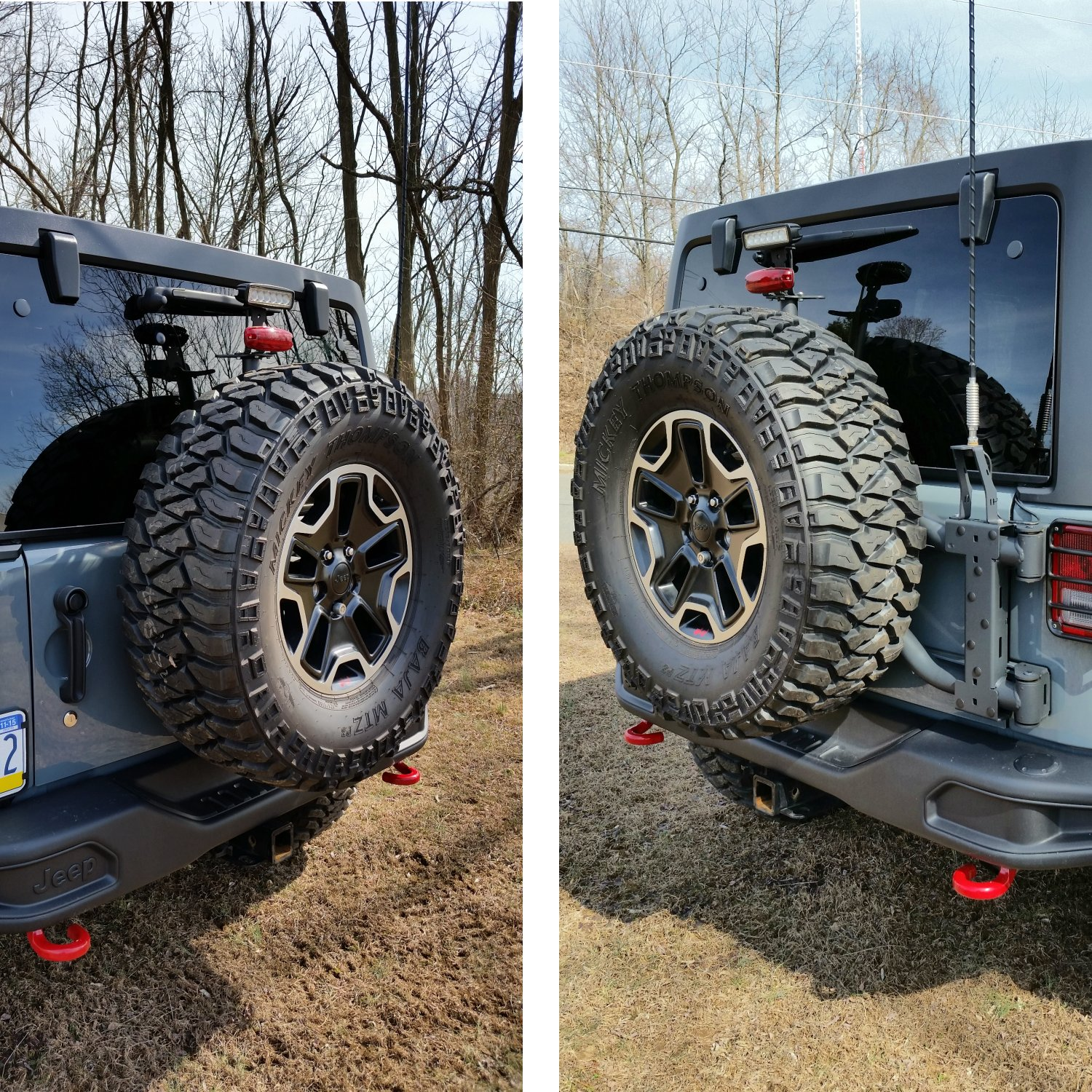 hight resolution of review photo maximus 3 jk modular tire carrier sport package