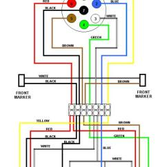 Trailor Wiring Diagram Trs Cable Trailer Diagrams Offroaders Com 6 Wire Circuit