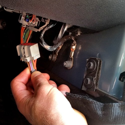 small resolution of smart doors install remove door wire harness