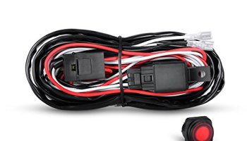 Admirable Nilight Led Light Bar Wiring Harness Kit 12V On Off Switch Power Wiring 101 Capemaxxcnl