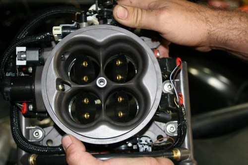 small resolution of project iron blazer holley terminator efi tbi cures quirky carb off road xtreme