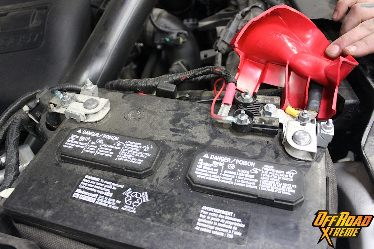 hight resolution of depending on your application the included battery wires may not be long enough to reach your car s battery center on our 2013 f150 the battery wires
