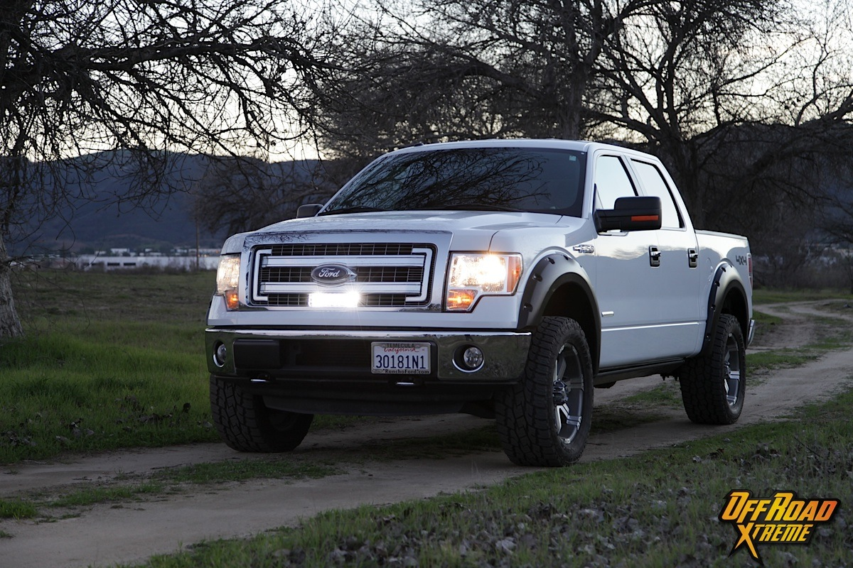 hight resolution of rigid industries light bar install on our 2013 f150 project truck off road xtreme