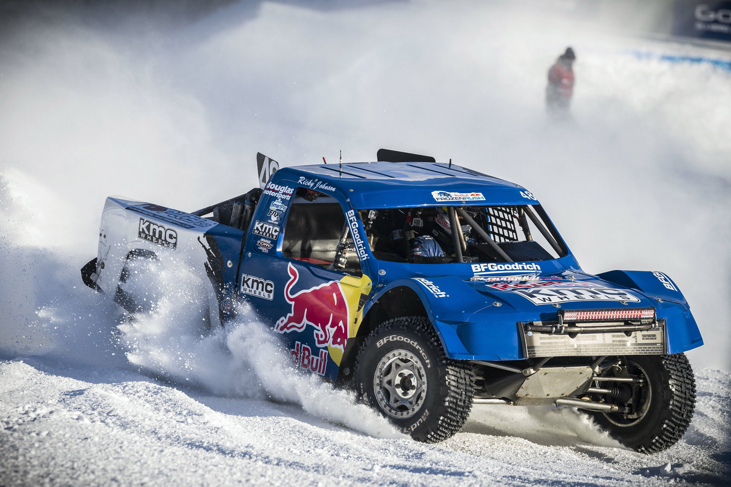 Rally Car Wallpaper Snow Red Bull Frozen Rush To Heat Up The Snow