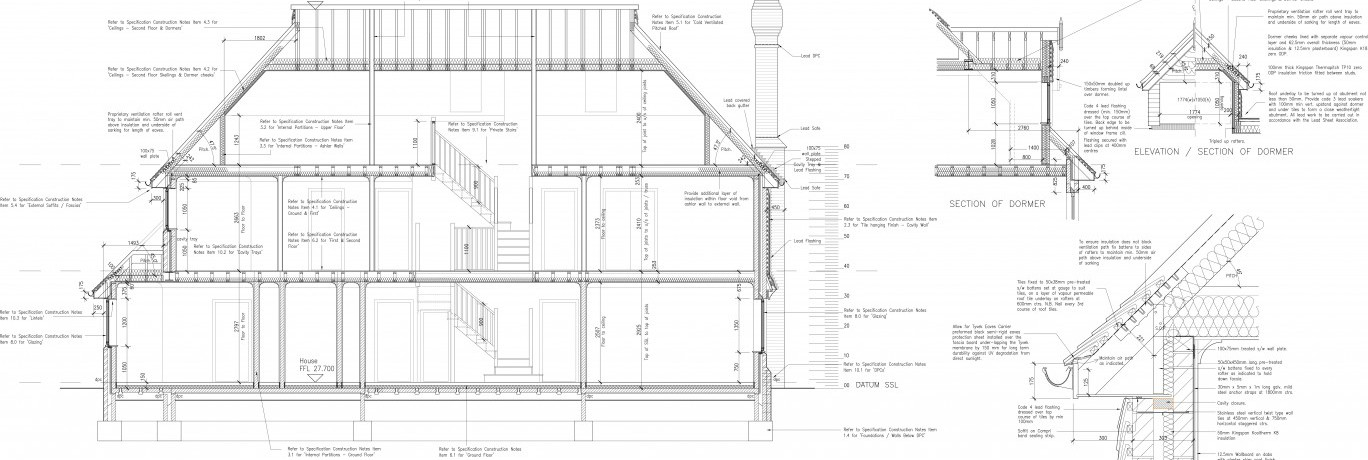working drawings offset architects