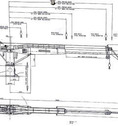 50 ton liebherr offshore subsea crane for sale ga drawing  [ 1024 x 839 Pixel ]