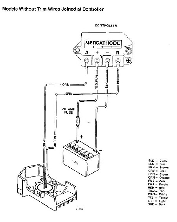 Mercruiser Mercathode Wiring Diagram : 36 Wiring Diagram