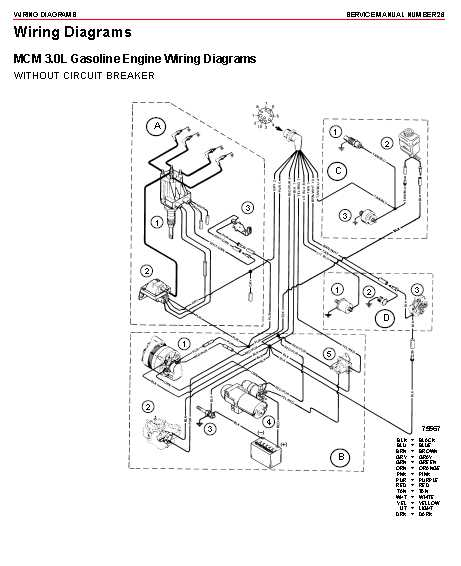 Mercury Inboard Wiring Diagram