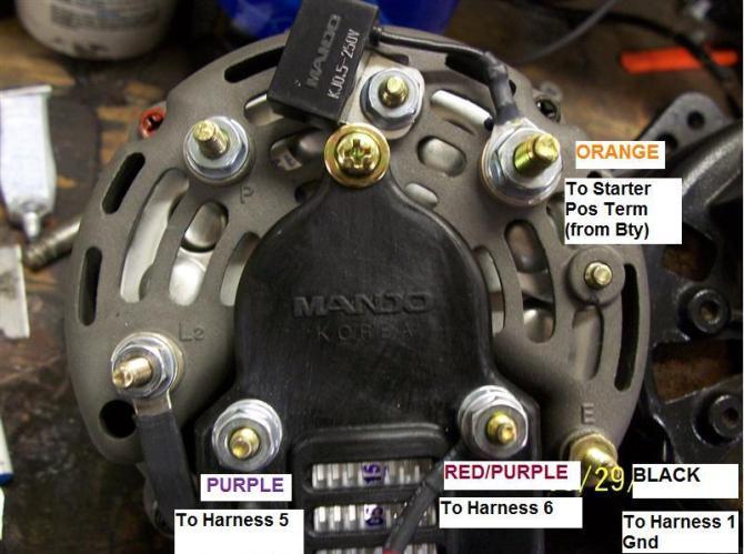 alternator wiring hookup  offshoreonly