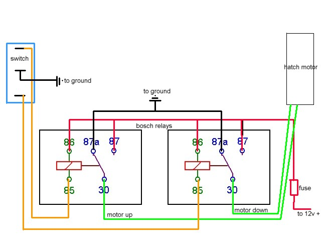 boat battery wiring diagrams gm alternator diagram 4 wire electric hatch lift - offshoreonly.com