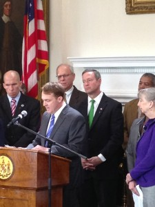 Peter LeHardy from Phoenex International Holdings expresses the company's support for Maryland's Offshore Wind Act 2013